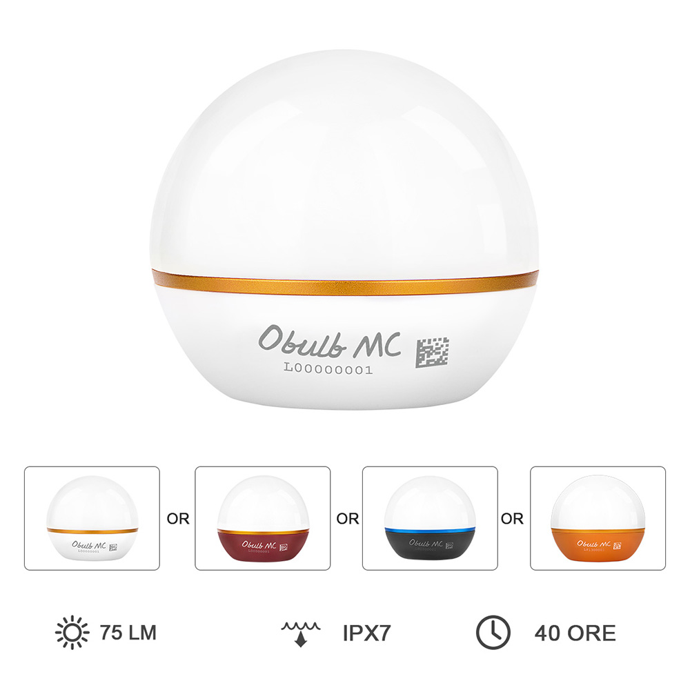 Olight Obulb MC Luce EDC Ricaricabile Magnetica