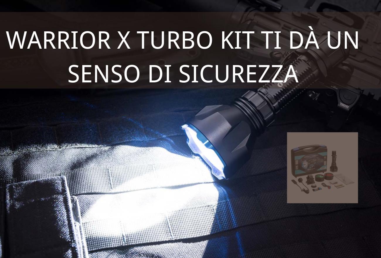 Guida: Warrior X Turbo Kit Migliore e Sempre di Più