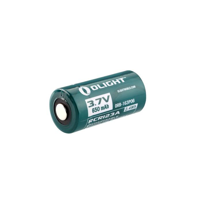 Batteria Olight 16340 650 mAh RCR123A - ricaricabile