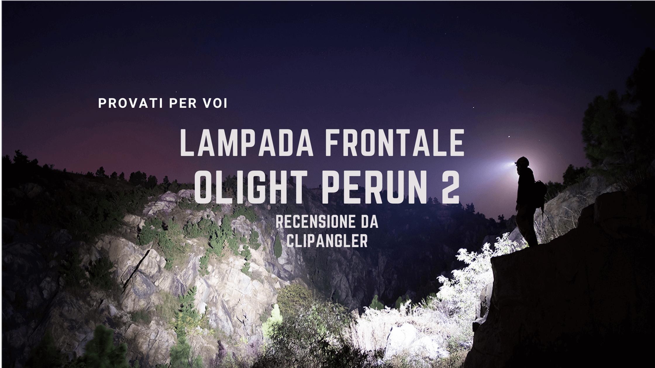 Lampada frontale OLIGHT PERUN 2
