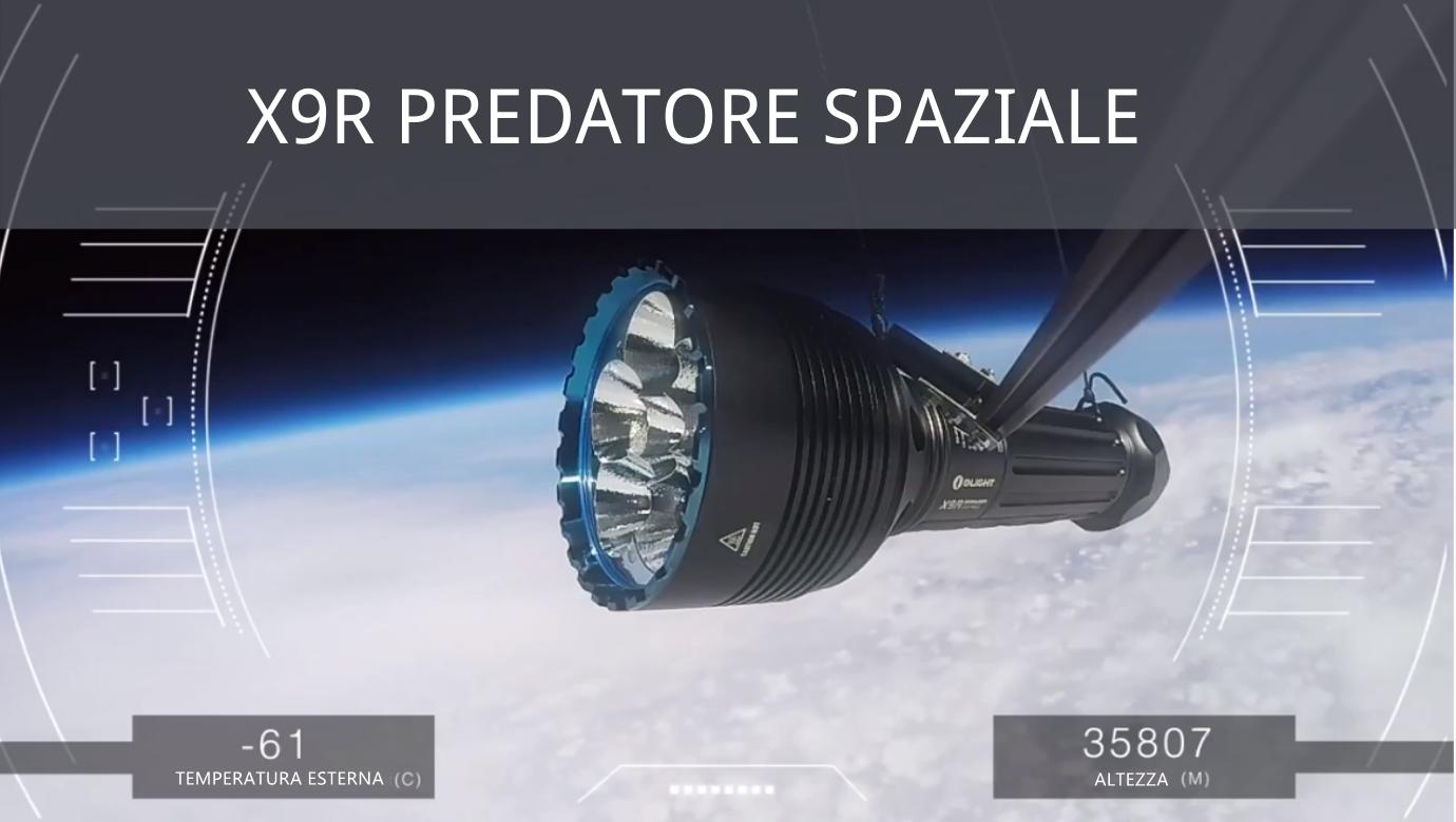 Guida: X9R Blu predatore spaziale