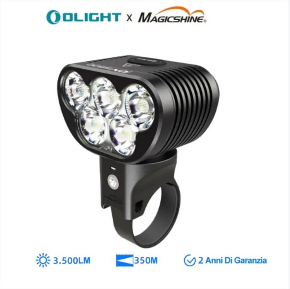 Olight RN 3500 LED Luce Anteriore Bicicletta Da Casco