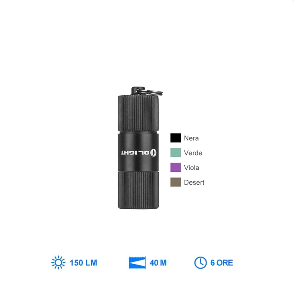 Olight i1R 2 EOS  Mini Torcia portachiavi EDC Ricaricabile