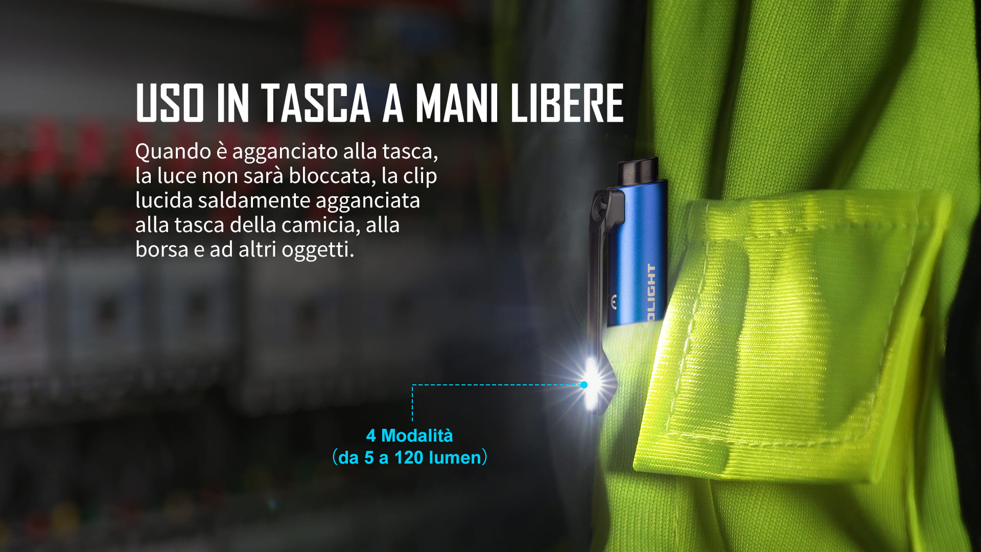Olight Open Pro,penna con luce,EDC penna luminosa