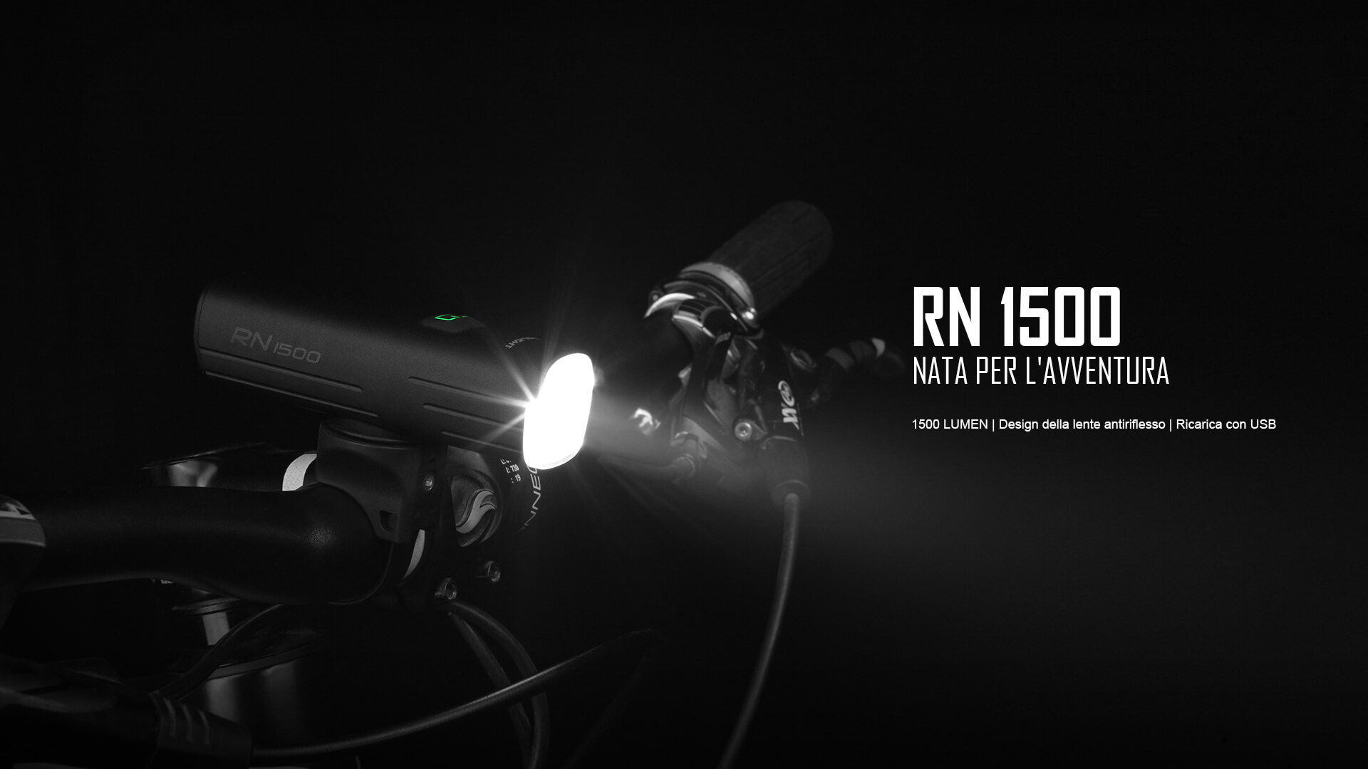 RN 1500, torce da bici